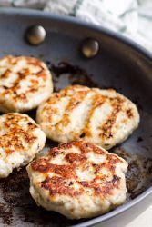 Piščančje mesne kroglice brez kruha