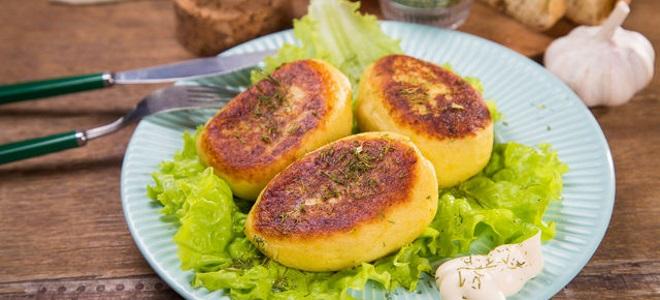bramborové kotlety bez masa