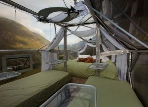 Skylodge Adventure Suites внутри