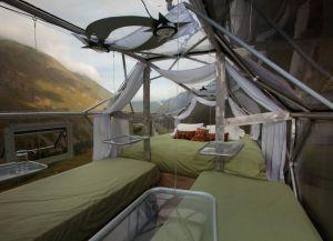 Skylodge Adventure Suites внутри