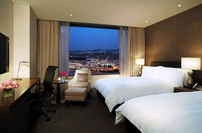 Номер в Lotte City Hotel Daejeon