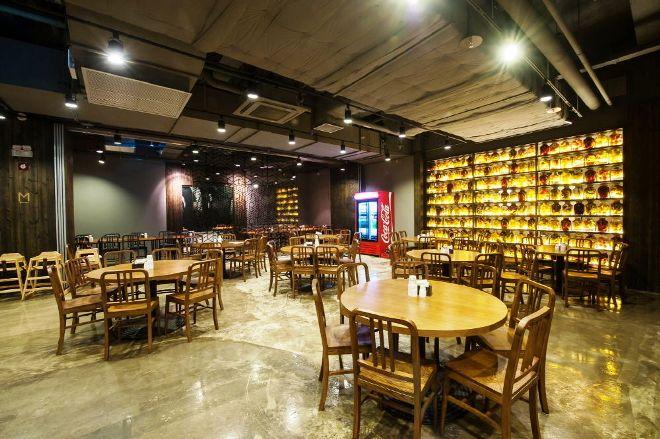 В ресторане отеля Laon Convention