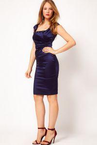 obleke v temno modri barvi 1