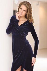 tamnoplave haljine 5