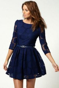 tamnoplave haljine 7