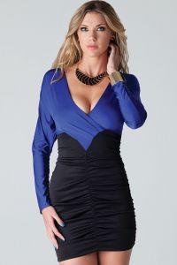 tamnoplave haljine 9