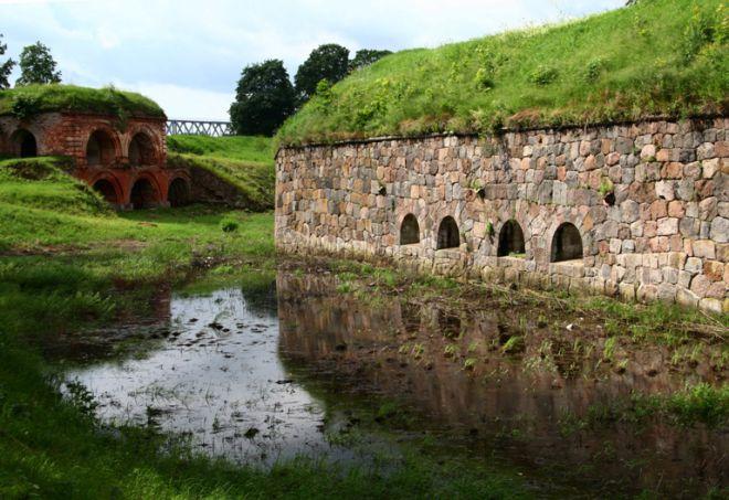 Часть древней крепости