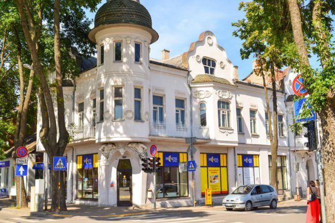 Здание в стиле югенд