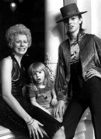 первая жена Дэвида Боуи и их сын