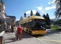 Общественный транспорт в Давосе