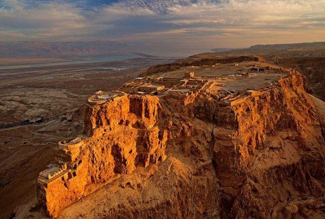 Крепость Массада