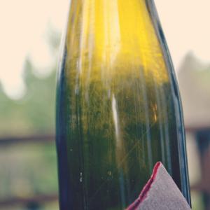 Dekoracja butelki DIY 19