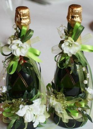 Dekoracja butelek DIY 2