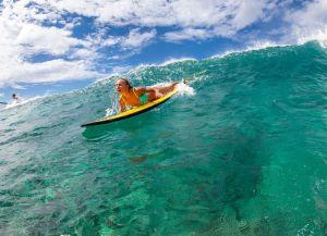 Олений остров серфинг