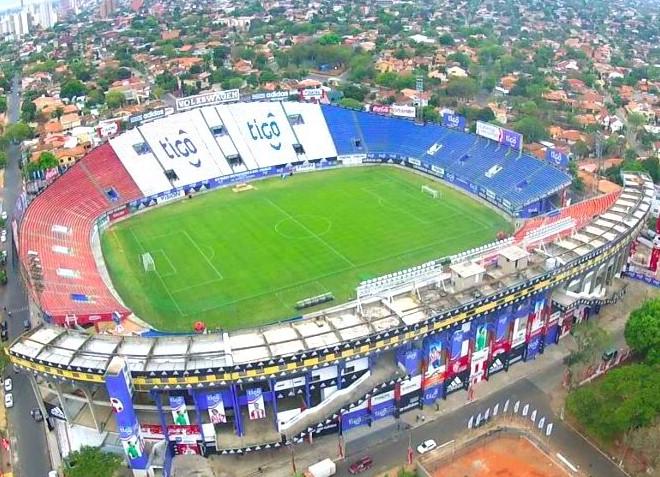 Один из крупнейших стадионов Парагвая