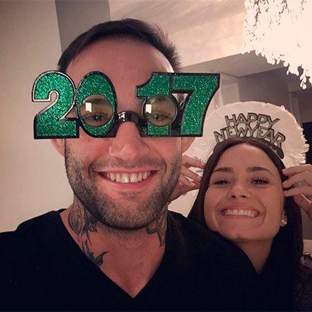 Гильерме Васконселос и Деми Ловато встречают Новый год