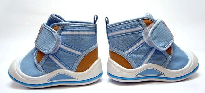 Ботинки для самых маленьких