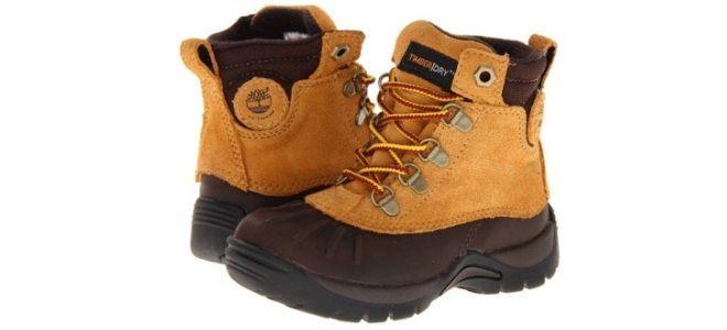 Правильная обувь для детей до 3 лет