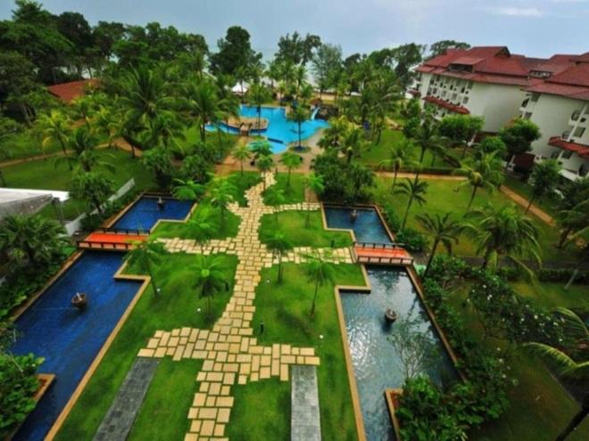 The Pulai Desaru Beach - один из популярных отелей курорта