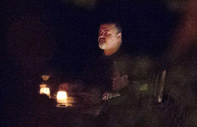 Джордж Майкл видели в ресторане в конце сентября