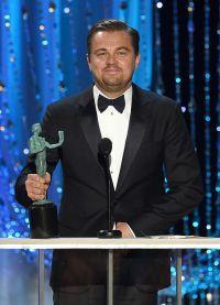 «Лучший актер» — Леонардо Ди Каприо («Выживший»)
