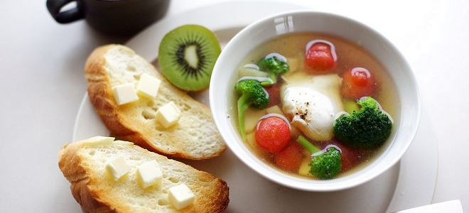 recept za zelenjavno juho