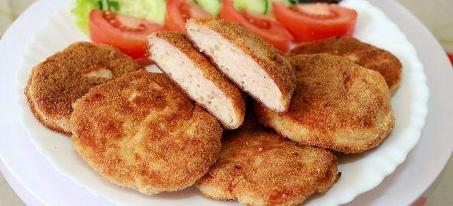 prehrambene jedi iz piščančjih prsi