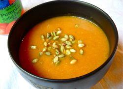 Суп пюре из тыквы диетический