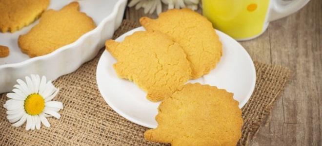ciastka z mąki kukurydzianej - przepis