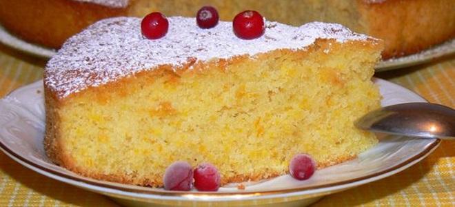 ciasto z mąki kukurydzianej