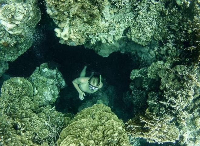 Удивительные ландшафты рифов острова Меджанганг