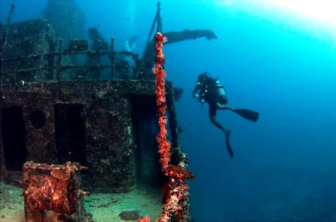 Затонувший корабль Британская верность