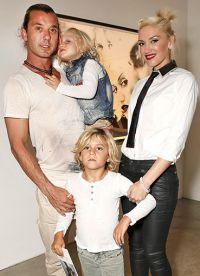 Гвен Стефани и ее семья