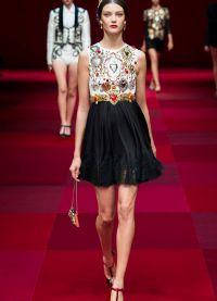 šaty Dolce & Gabbana 2015 3