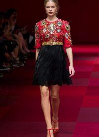 šaty Dolce & Gabbana 2015 4