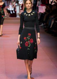 šaty Dolce & Gabbana 2015 5