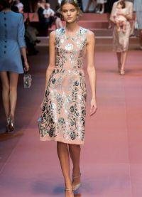 šaty Dolce & Gabbana 2015 9
