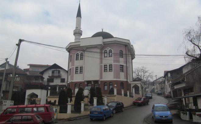 Мечеть в Добое