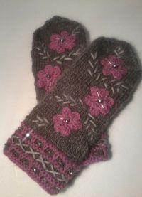 piórkowe rękawiczki2