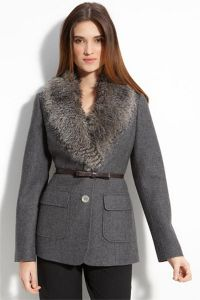 Zimowy płaszcz damski 1