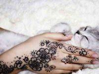 Rysunki henny na rękach5