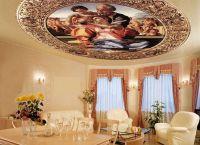 Stropne stropove sa slikom2