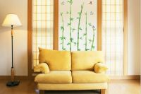 bambusov uzorak na zidu1