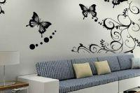 crteži leptira na zidu1