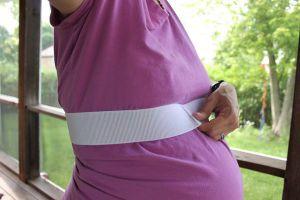 Sundress dla kobiet w ciąży z własnymi rękami4