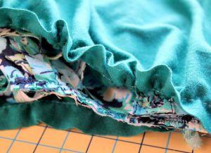 Sukienka dla kobiet w ciąży z własnymi rękami15