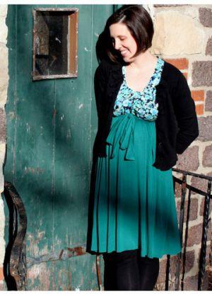 Sukienka dla kobiet w ciąży zrób to sam22