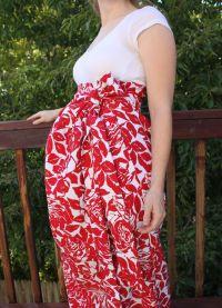 Sukienka dla kobiet w ciąży zrób to sam23