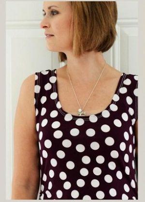 Sukienka dla kobiet w ciąży z własnymi rękami5
