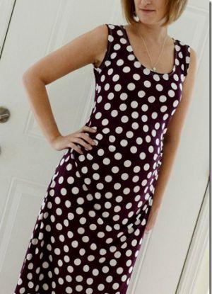 Sukienka dla kobiet w ciąży własnymi rękami6